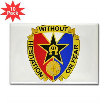 901CCB - M01 - 01 - DUI - 901st Contingency Contracting Battalion - Rectangle Magnet (10 pack)