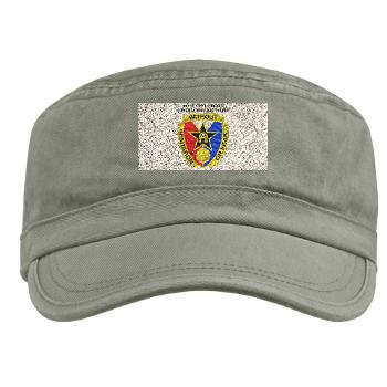 901CCB - A01 - 01 - DUI - 901st Contingency Contracting Battalion with Text - Military Cap