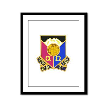 902CCB - M01 - 02 - DUI - 902nd Contingency Contracting Battalion - Framed Panel Print