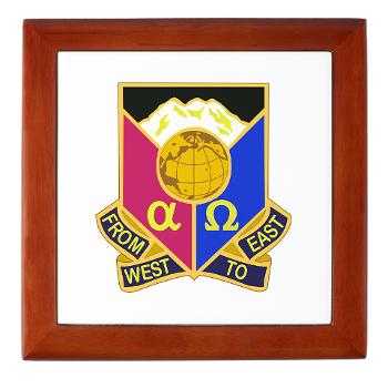 902CCB - M01 - 03 - DUI - 902nd Contingency Contracting Battalion - Keepsake Box