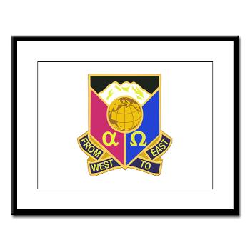 902CCB - M01 - 02 - DUI - 902nd Contingency Contracting Battalion - Large Framed Print