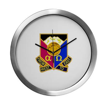 902CCB - M01 - 03 - DUI - 902nd Contingency Contracting Battalion - Modern Wall Clock