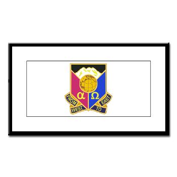 902CCB - M01 - 02 - DUI - 902nd Contingency Contracting Battalion - Small Framed Print