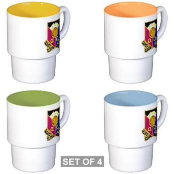 902CCB - M01 - 03 - DUI - 902nd Contingency Contracting Battalion - Stackable Mug Set (4 mugs)