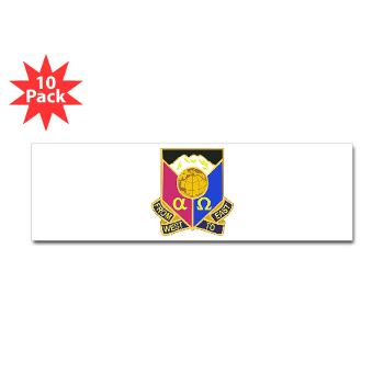 902CCB - M01 - 01 - DUI - 902nd Contingency Contracting Battalion - Sticker (Bumper 10 pk)