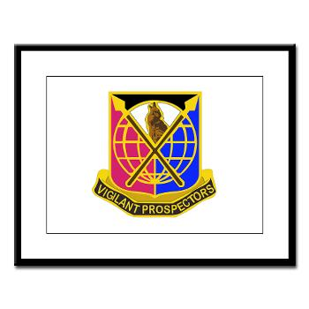 904CCB - M01 - 02 - DUI - 904TH Contingency Contracting Battalion Large Framed Print