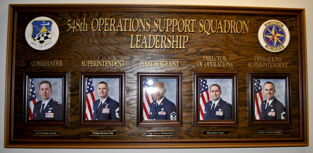 9th Intelligence Squadron Command Display
