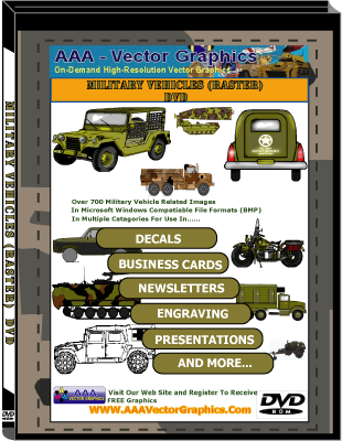 Military Vehicles (Raster) DVD