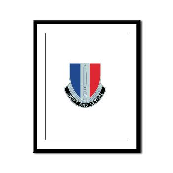 AC189IB - M01 - 02 - A Company - 189th Infantry Bde - Framed Panel Print