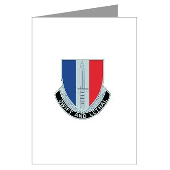 AC189IB - M01 - 02 - A Company - 189th Infantry Bde - Greeting Cards (Pk of 10)