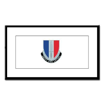 AC189IB - M01 - 02 - A Company - 189th Infantry Bde - Small Framed Print