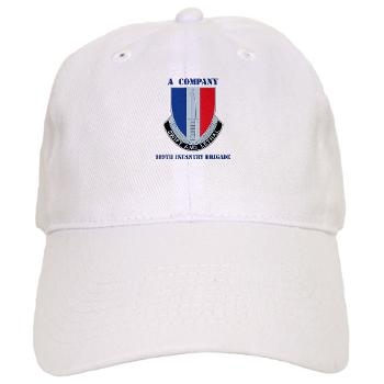 AC189IB - A01 - 01 - A Company - 189th Infantry Bde with Text - Cap