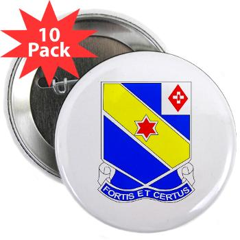 "AC52IR - M01 - 01 - DUI - A Company - 52nd Infantry Regiment 2.25"" Button (10 pack)"