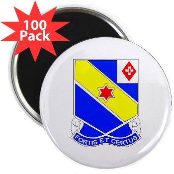 "AC52IR - M01 - 01 - DUI - A Company - 52nd Infantry Regiment 2.25"" Magnet (100 pack)"