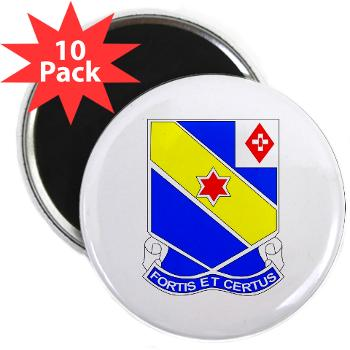 "AC52IR - M01 - 01 - DUI - A Company - 52nd Infantry Regiment 2.25"" Magnet (10 pack)"