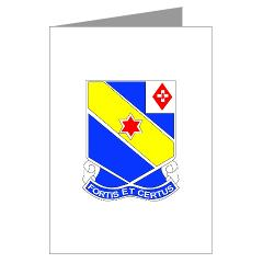 AC52IR - M01 - 02 - DUI - A Company - 52nd Infantry Regiment Greeting Cards (Pk of 20)
