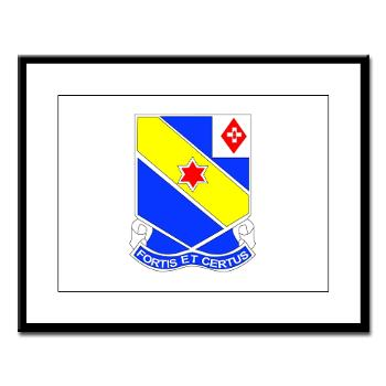 AC52IR - M01 - 02 - DUI - A Company - 52nd Infantry Regiment Large Framed Print