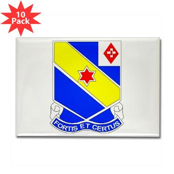 AC52IR - M01 - 01 - DUI - A Company - 52nd Infantry Regiment Rectangle Magnet (10 pack)