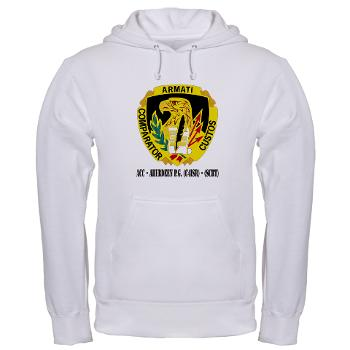 ACCAPG - A01 - 03 - DUI - ACC - Aberdeen P.G. (C4ISR) - (SCRT) with Text Hooded Sweatshirt