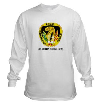 ACCAPG - A01 - 03 - DUI - ACC - Aberdeen P.G. (C4ISR) - (SCRT) with Text Long Sleeve T-Shirt