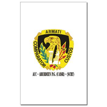 ACCAPG - M01 - 02 - DUI - ACC - Aberdeen P.G. (C4ISR) - (SCRT) with Text Mini Poster Print