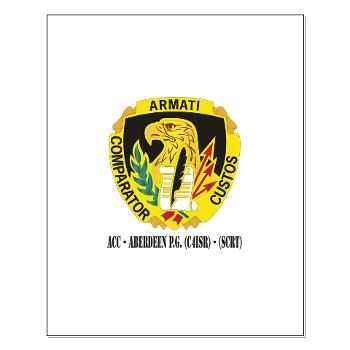 ACCAPG - M01 - 02 - DUI - ACC - Aberdeen P.G. (C4ISR) - (SCRT) with Text Small Poster