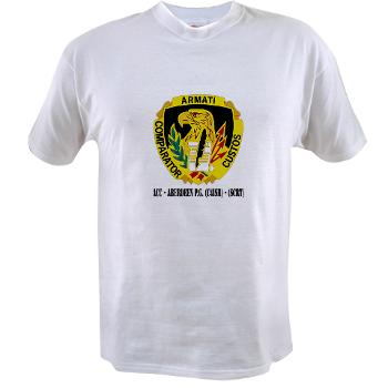 ACCAPG - A01 - 04 - DUI - ACC - Aberdeen P.G. (C4ISR) - (SCRT) with Text Value T-shirt