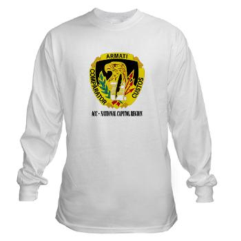 ACCNCR - A01 - 03 - DUI - ACC - National Capitol Region withText - Long Sleeve T-Shirt