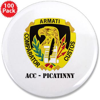 "ACCP - M01 - 01 - DUI-ACC - Picatinny with Text 3.5"" Button (100 pack)"