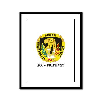 ACCP - M01 - 02 - DUI-ACC - Picatinny with Text Framed Panel Print