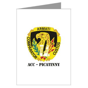 ACCP - M01 - 02 - DUI-ACC - Picatinny with Text Greeting Cards (Pk of 20)