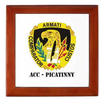 ACCP - M01 - 03 - DUI-ACC - Picatinny with Text Keepsake Box
