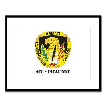 ACCP - M01 - 02 - DUI-ACC - Picatinny with Text Large Framed Print