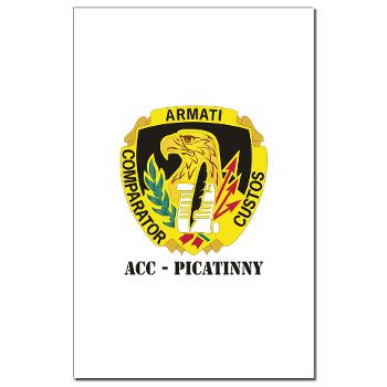 ACCP - M01 - 02 - DUI-ACC - Picatinny with Text Mini Poster Print