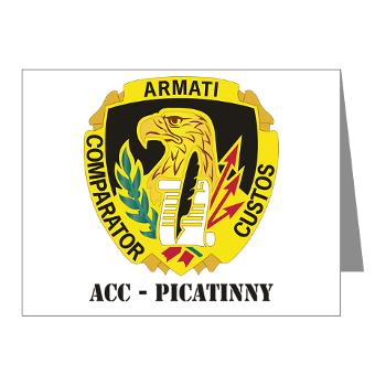 ACCP - M01 - 02 - DUI-ACC - Picatinny with Text Note Cards (Pk of 20)