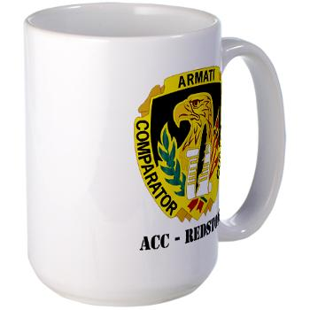 ACCR - M01 - 03 - DUI - ACC - Redstone with Text - Large Mug