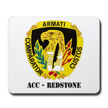 ACCR - M01 - 03 - DUI - ACC - Redstone with Text - Mousepad