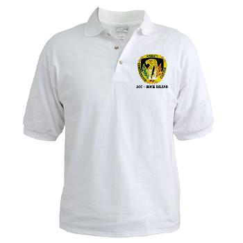 ACCRI - A01 - 04 - DUI - ACC - Rock Island with text - Golf Shirt