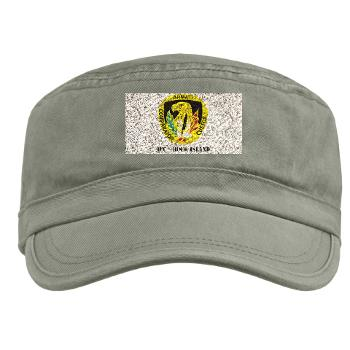 ACCRI - A01 - 01 - DUI - ACC - Rock Island with text - Military Cap