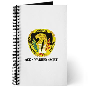 ACCWSCRT - M01 - 02 - DUI - ACC - Warren (SCRT) with Text - Journal