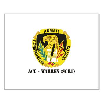 ACCWSCRT - M01 - 02 - DUI - ACC - Warren (SCRT) with Text - Small Poster
