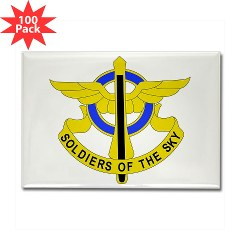USAREC5RB - M01 - 01 - 5th Recruiting Brigade Rectangle Magnet (100 pack)