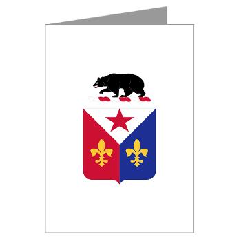 ADAS6B - M01 - 02 - Air Defense Artillery School - 6th Brigade - Greeting Cards (Pk of 10)