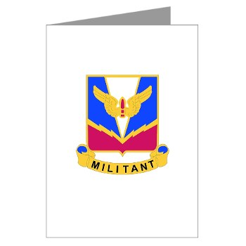 ADASchool - M01 - 02 - DUI - Air Defense Artillery Center/School Greeting Cards (Pk of 10)