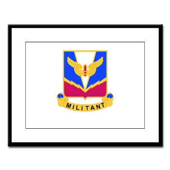 ADASchool - M01 - 02 - DUI - Air Defense Artillery Center/School Large Framed Print