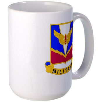 ADASchool - M01 - 03 - DUI - Air Defense Artillery Center/School Large Mug
