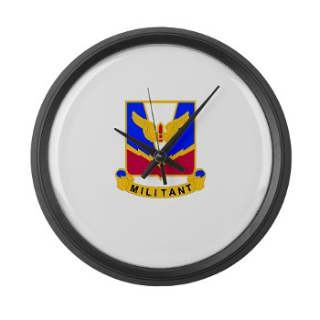 ADASchool - M01 - 03 - DUI - Air Defense Artillery Center/School Large Wall Clock