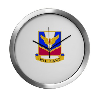 ADASchool - M01 - 03 - DUI - Air Defense Artillery Center/School Modern Wall Clock