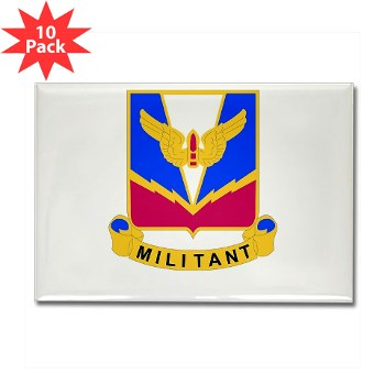 ADASchool - M01 - 01 - DUI - Air Defense Artillery Center/School Rectangle Magnet (10 pack)