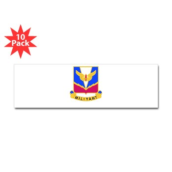 ADASchool - M01 - 01 - DUI - Air Defense Artillery Center/School Sticker (Bumper 10 pk)